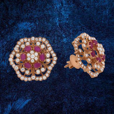 Bloom Floral Stud Earrings